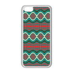 Ethnic Geometric Pattern Apple Iphone 5c Seamless Case (white) by linceazul