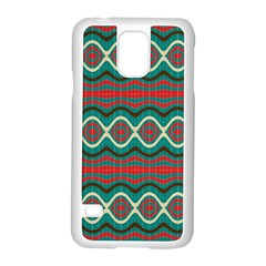 Ethnic Geometric Pattern Samsung Galaxy S5 Case (white) by linceazul