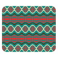 Ethnic Geometric Pattern Double Sided Flano Blanket (small)  by linceazul