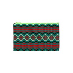 Ethnic Geometric Pattern Cosmetic Bag (xs) by linceazul