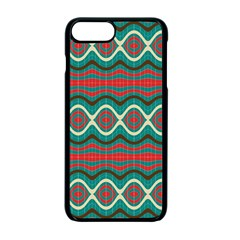 Ethnic Geometric Pattern Apple Iphone 7 Plus Seamless Case (black) by linceazul