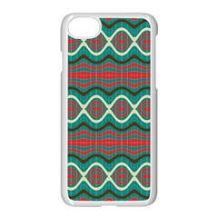 Ethnic Geometric Pattern Apple Iphone 7 Seamless Case (white) by linceazul