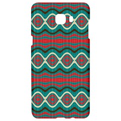 Ethnic Geometric Pattern Samsung C9 Pro Hardshell Case  by linceazul