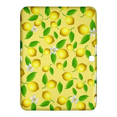 Lemon Pattern Samsung Galaxy Tab 4 (10 1 ) Hardshell Case  by Valentinaart