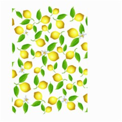 Lemon Pattern Large Garden Flag (two Sides)