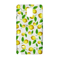 Lemon Pattern Samsung Galaxy Note 4 Hardshell Case