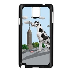 Great Dane Samsung Galaxy Note 3 N9005 Case (black) by Valentinaart