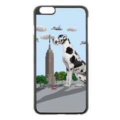 Great Dane Apple Iphone 6 Plus/6s Plus Black Enamel Case