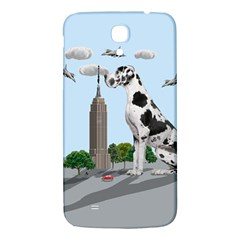Great Dane Samsung Galaxy Mega I9200 Hardshell Back Case by Valentinaart