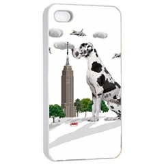 Great Dane Apple Iphone 4/4s Seamless Case (white)