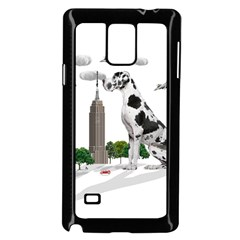 Great Dane Samsung Galaxy Note 4 Case (black) by Valentinaart