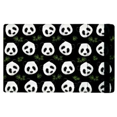 Panda Pattern Apple Ipad Pro 12 9   Flip Case by Valentinaart
