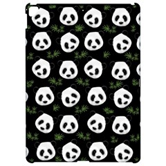 Panda Pattern Apple Ipad Pro 12 9   Hardshell Case by Valentinaart