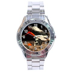 Optimism Stainless Steel Analogue Watch