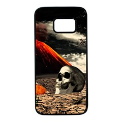 Optimism Samsung Galaxy S7 Black Seamless Case by Valentinaart
