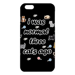 I Was Normal Three Cats Ago Iphone 6 Plus/6s Plus Tpu Case by Valentinaart