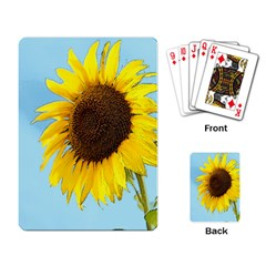 Sunflower Playing Card by Valentinaart