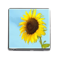 Sunflower Memory Card Reader (square) by Valentinaart