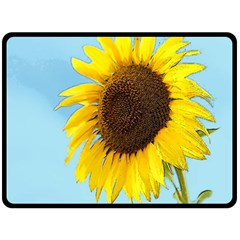 Sunflower Fleece Blanket (large)