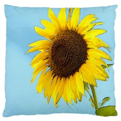 Sunflower Large Cushion Case (two Sides)
