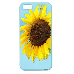 Sunflower Apple Seamless Iphone 5 Case (color) by Valentinaart