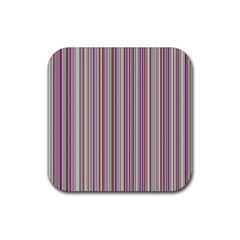 Lines Rubber Coaster (square)  by Valentinaart