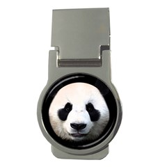 Panda Face Money Clips (round)  by Valentinaart
