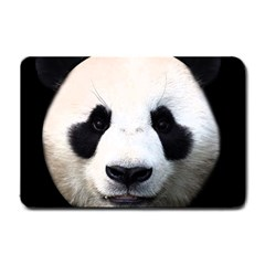 Panda Face Small Doormat  by Valentinaart