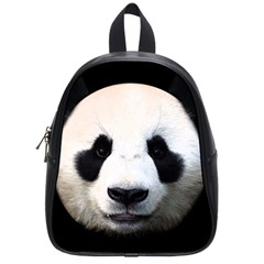 Panda Face School Bag (small) by Valentinaart