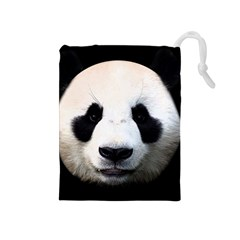 Panda Face Drawstring Pouches (medium)