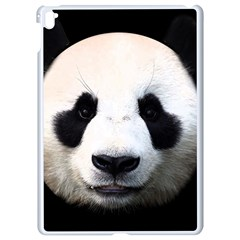 Panda Face Apple Ipad Pro 9 7   White Seamless Case by Valentinaart