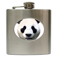 Panda Face Hip Flask (6 Oz)