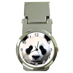 Panda Face Money Clip Watches by Valentinaart