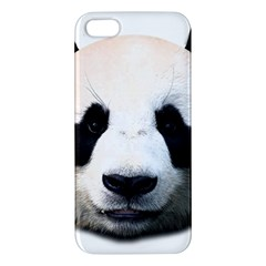 Panda Face Iphone 5s/ Se Premium Hardshell Case by Valentinaart