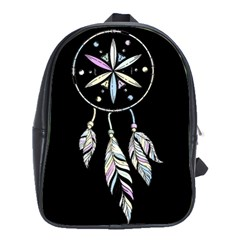 Dreamcatcher  School Bag (large) by Valentinaart