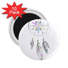 Dreamcatcher  2 25  Magnets (10 Pack)  by Valentinaart