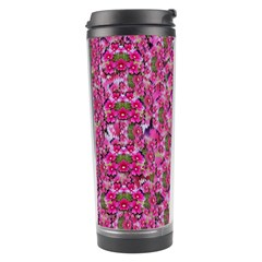 Fantasy Magnolia Tree In A Fantasy Landscape Travel Tumbler by pepitasart