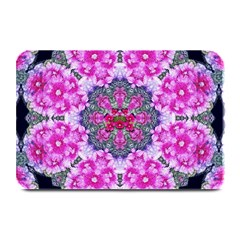 Fantasy Cherry Flower Mandala Pop Art Plate Mats by pepitasart