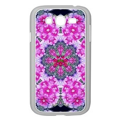Fantasy Cherry Flower Mandala Pop Art Samsung Galaxy Grand Duos I9082 Case (white)