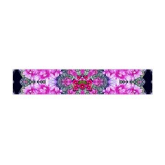 Fantasy Cherry Flower Mandala Pop Art Flano Scarf (mini) by pepitasart