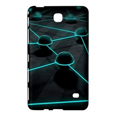 3d Balls Rendering Lines  Samsung Galaxy Tab 4 (8 ) Hardshell Case  by amphoto