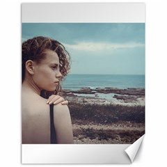 Girl & The Sea Canvas 18  X 24   by amphoto