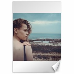 Girl & The Sea Canvas 20  X 30   by amphoto