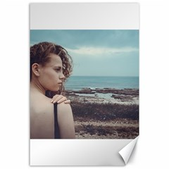 Girl & The Sea Canvas 24  X 36  by amphoto