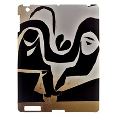 With Love Apple Ipad 3/4 Hardshell Case by MRTACPANS