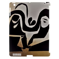 With Love Apple Ipad 3/4 Hardshell Case (compatible With Smart Cover) by MRTACPANS
