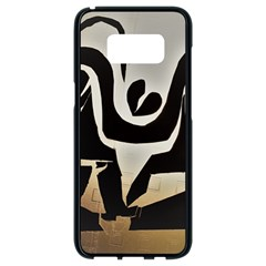 With Love Samsung Galaxy S8 Black Seamless Case by MRTACPANS