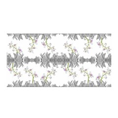 Floral Collage Pattern Satin Wrap by dflcprintsclothing