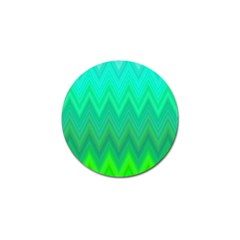 Zig Zag Chevron Classic Pattern Golf Ball Marker (4 Pack)