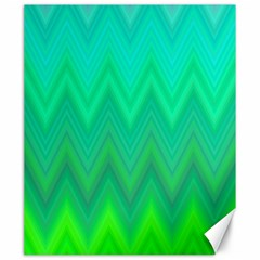 Zig Zag Chevron Classic Pattern Canvas 20  X 24   by Nexatart